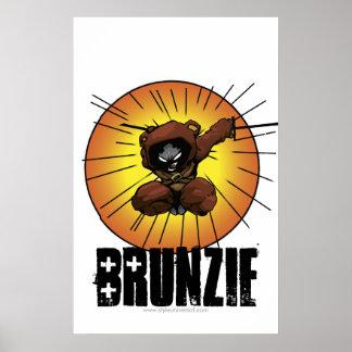 Poster de la estocada de Brunzie Póster