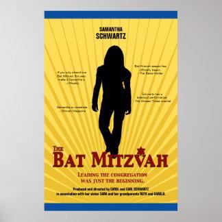 Poster de la estrella de cine de Mitzvah del palo Póster
