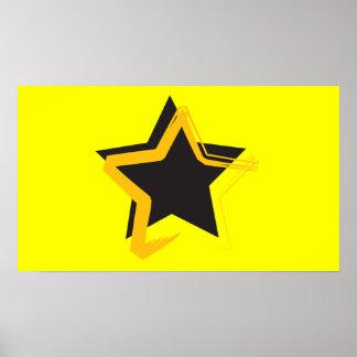 Poster de la estrella de la diva