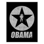 Poster de la estrella de Obama