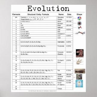 Poster de la evolución