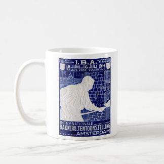 Poster de la expo de la hornada de 1914 holandeses taza clásica