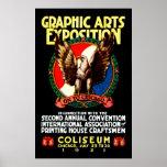 Poster de la expo del arte gráfico 1921
