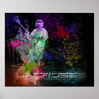 Poster de la extensión de la salpicadura de LaCros