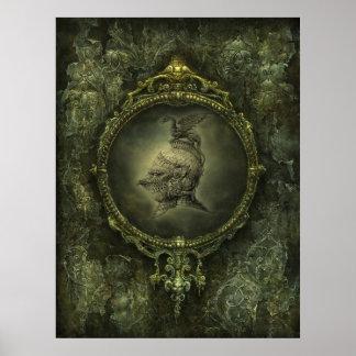 Poster de la fantasía del caballero