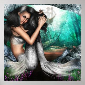 Poster de la fascinación de la sirena