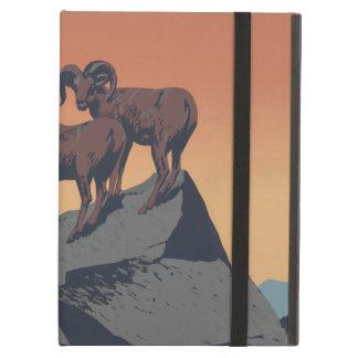 Poster de la fauna de las ovejas de Bighorn del vi