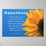Poster de la felicidad: Ingersoll