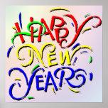 Poster de la Feliz Año Nuevo