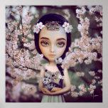 Poster de la flor de cerezo