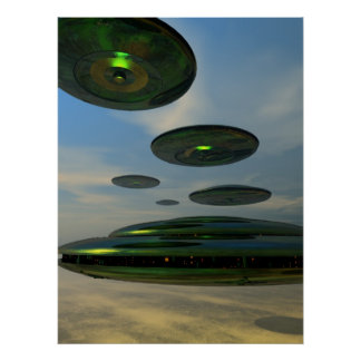 Poster de la flota del platillo volante