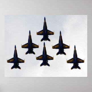 Poster de la formación del delta de los ángeles de