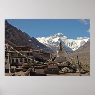 Poster de la foto de Everest: Fotos de Tíbet