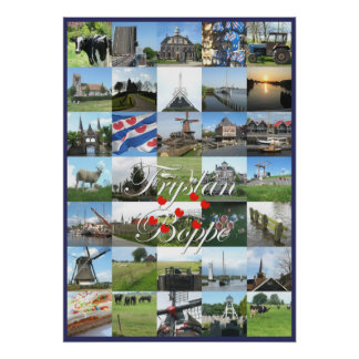 Poster de la foto de Fryslan Boppe Frisia