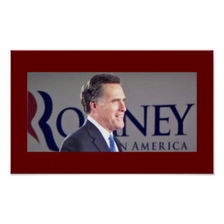 Poster de la foto de Mitt Romney