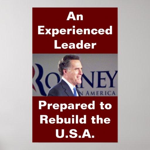 Poster de la foto de Romney