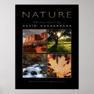 Poster de la fotografía de la naturaleza