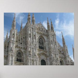 Poster de la fotografía de Milano, Italia