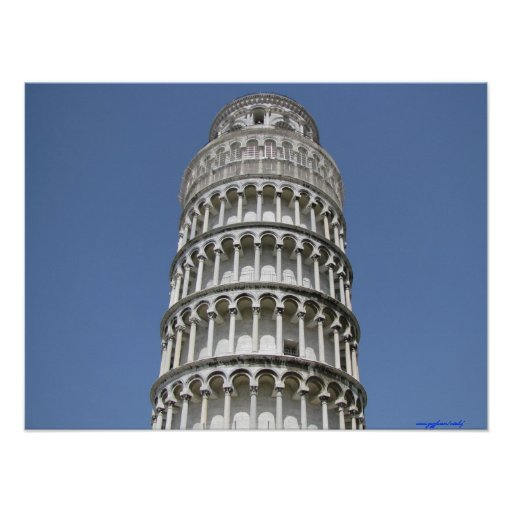 Poster de la fotografía de Pisa, Italia