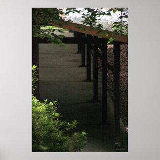 Poster de la fotografía del momento del zen de la