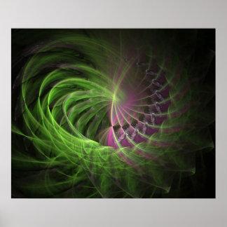 poster de la fractal-ruleta