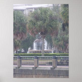 Poster de la fuente de Charleston