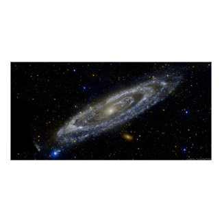 Poster de la galaxia del Andromeda Póster
