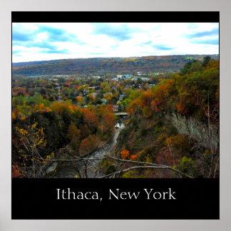 Poster de la GARGANTA de ITHACA NUEVA YORK