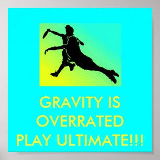 Poster de la gravedad