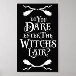 Poster de la guarida de las brujas