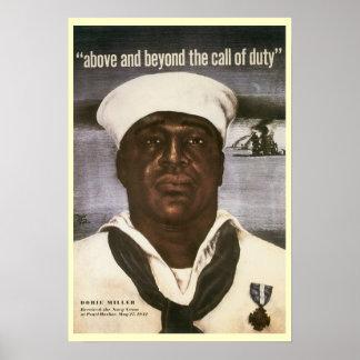 Poster de la guerra del vintage de WWI y de WWII