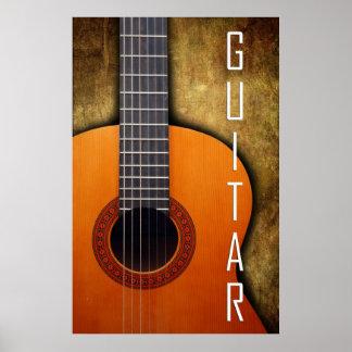 Poster de la guitarra