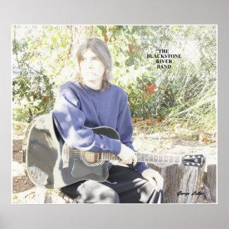 Poster de la guitarra de BRB George