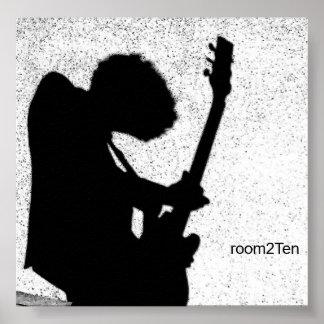 Poster de la guitarra póster