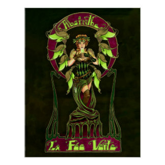 Poster de la hada del ajenjo