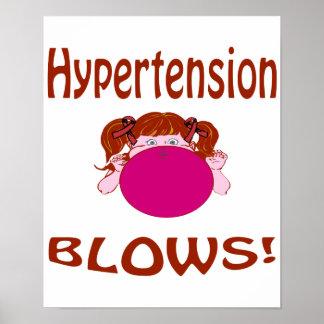 Poster de la hipertensión de los soplos
