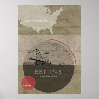 Poster de la historia de San Francisco