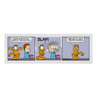 Poster de la historieta de Garfield