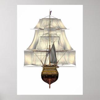 Poster de la HMS Victory