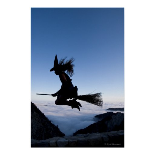 "Poster ""de la hora Witching"" de Cyril Helnwein"