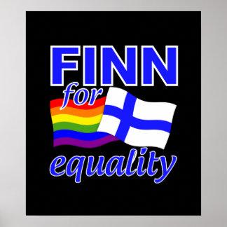 Poster de la igualdad del Finn 4