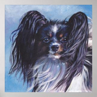 Poster de la impresión de la bella arte del perro