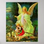Poster de la impresión de la imagen del ángel de
