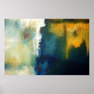 Poster de la impresión del arte de la pintura del