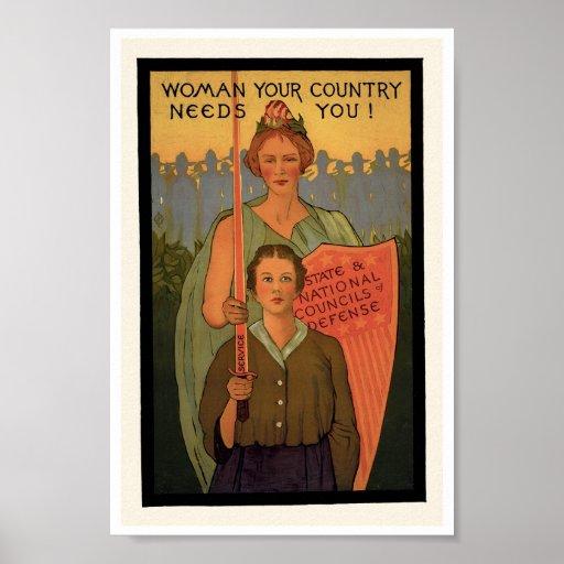 Poster de la impresión del arte de la Segunda Guer