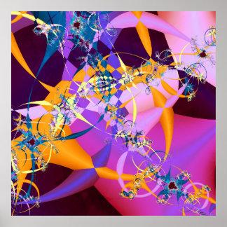Poster de la impresión del arte de Retro-MOD