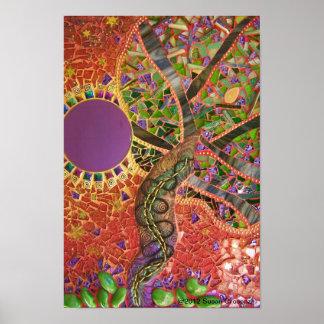 Poster de la impresión del vemos el árbol de Susan