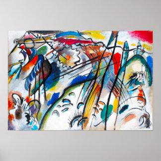 Poster de la improvisación 28 de Kandinsky Póster