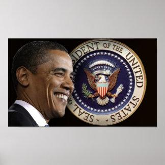 Poster de la inauguración de Obama