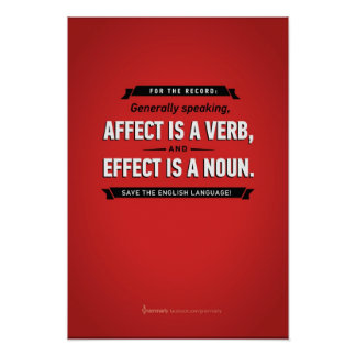 Poster de la influencia/del efecto de Grammarly